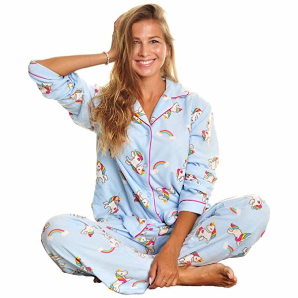 Two Piece Unicorn Pajama Set