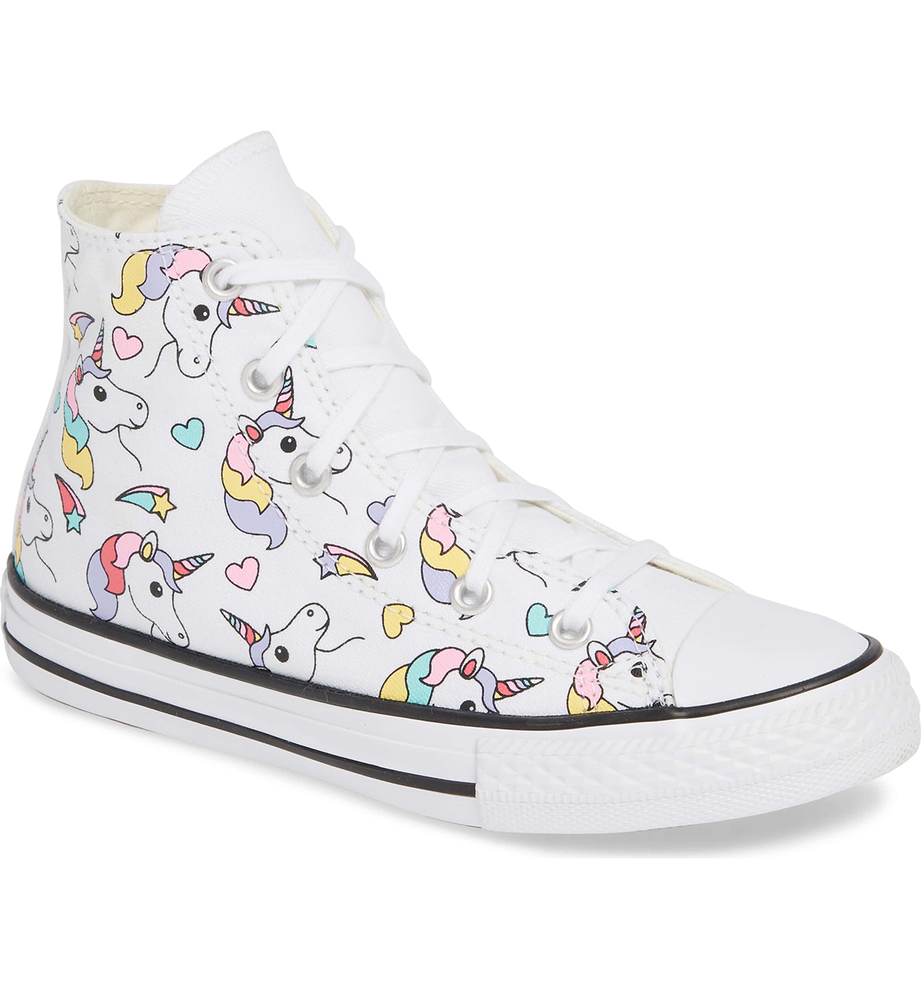 Sweet Unicorn High Top Sneakers by Converse